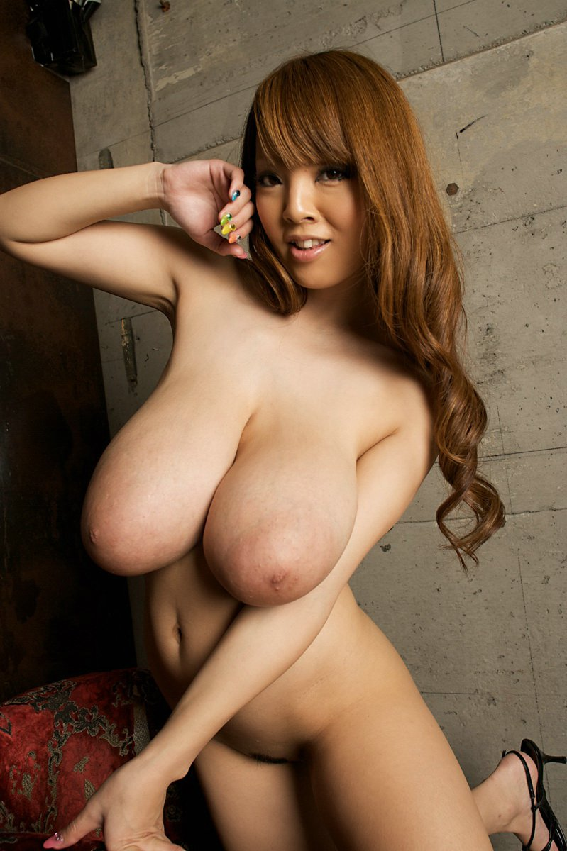 Big boobed japanese video